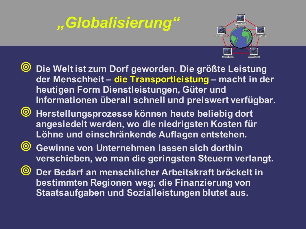 """""""Globalisierung"""
