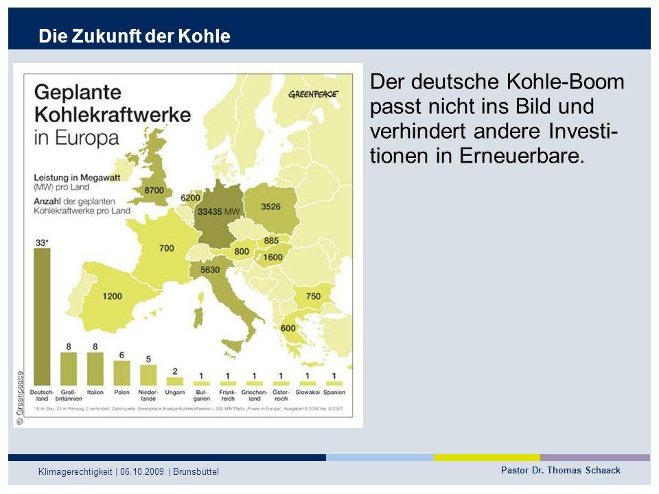 Der deutsche Kohle-Boom