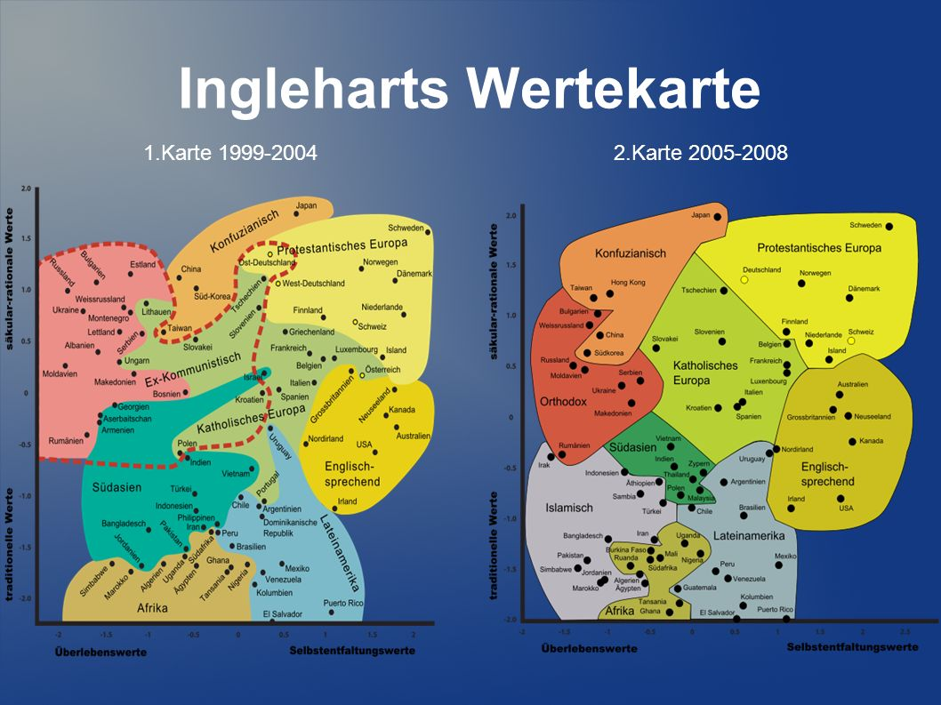Ingleharts Wertekarte