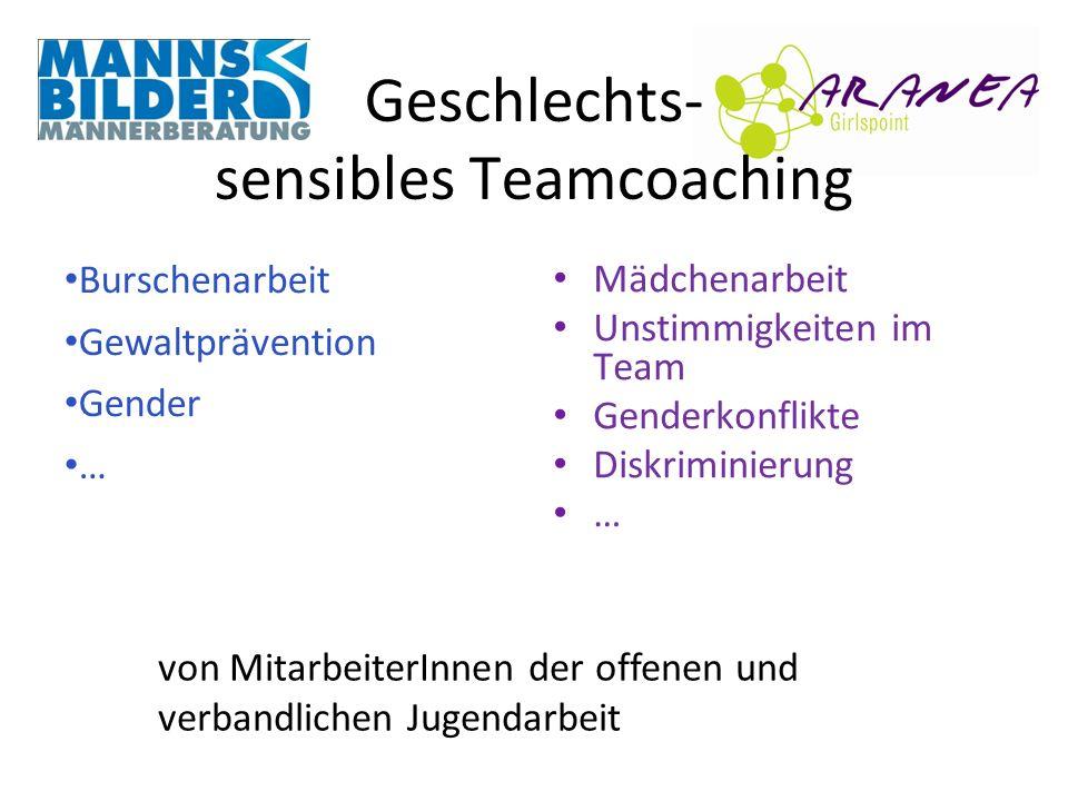 Geschlechts- sensibles Teamcoaching