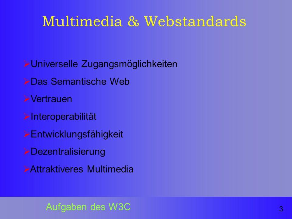 Multimedia & Webstandards