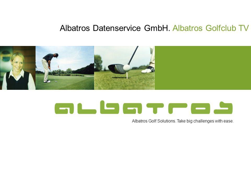 Albatros Datenservice GmbH. Albatros Golfclub TV