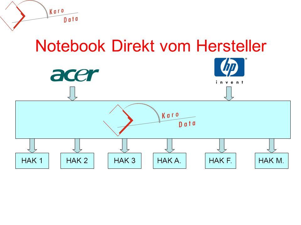 Notebook Direkt vom Hersteller