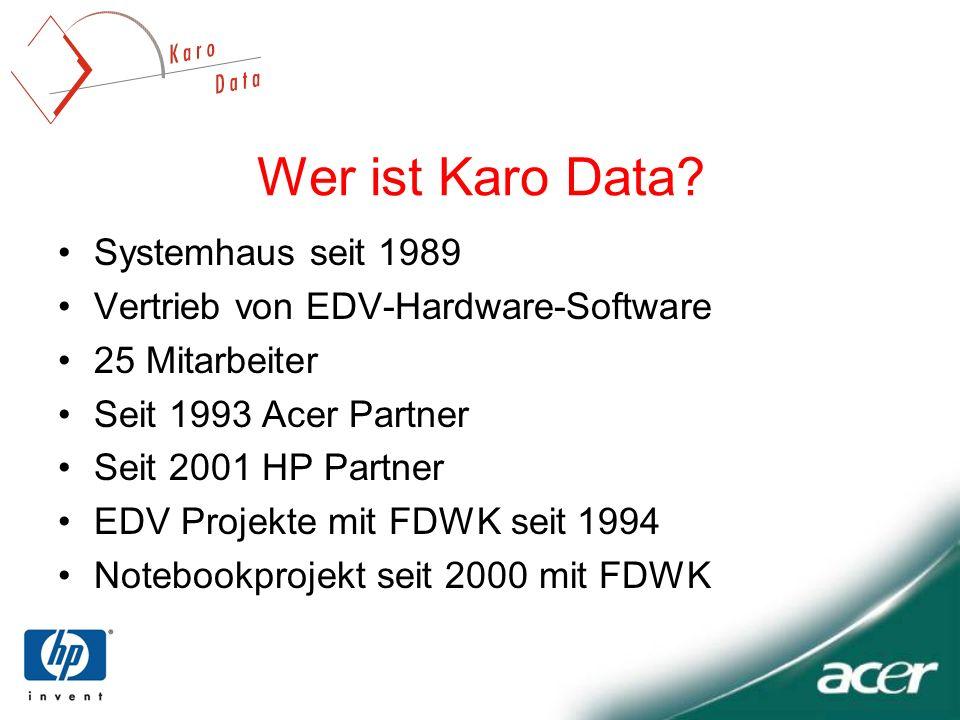 Wer ist Karo Data Systemhaus seit 1989