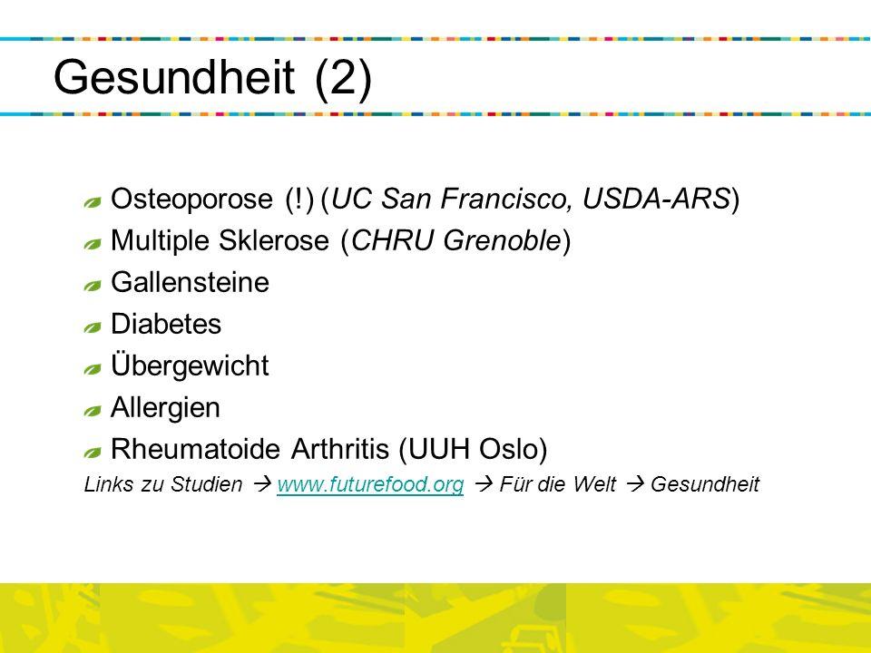 Gesundheit (2) Osteoporose (!) (UC San Francisco, USDA-ARS)