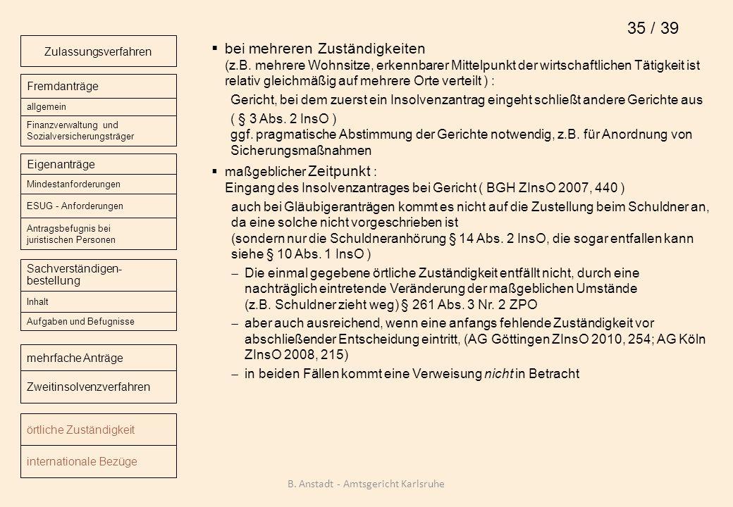 B. Anstadt - Amtsgericht Karlsruhe