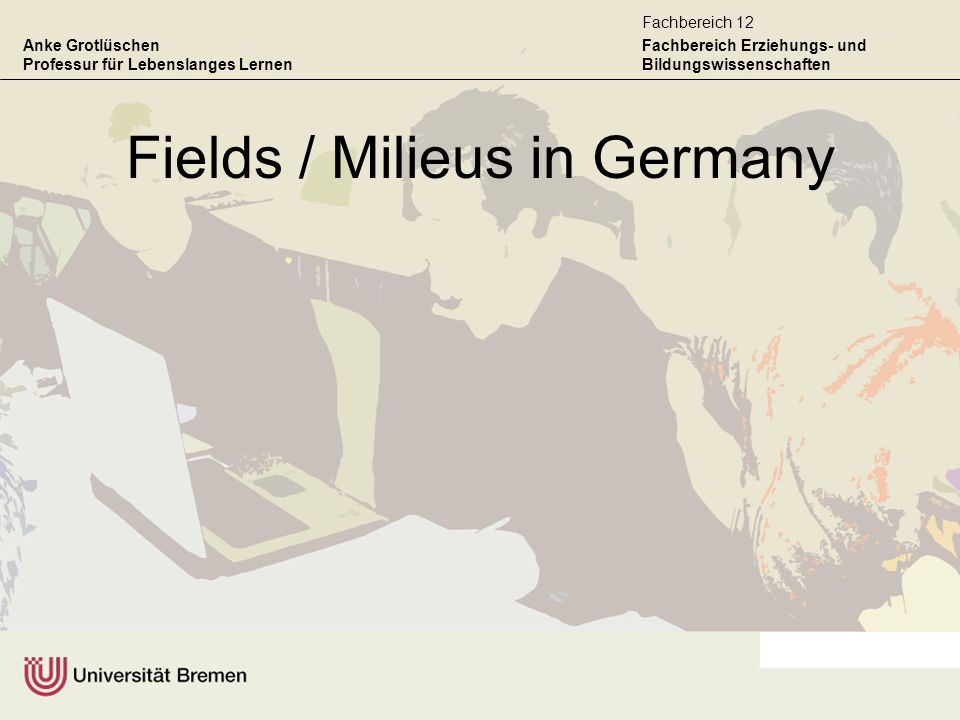 Fields / Milieus in Germany