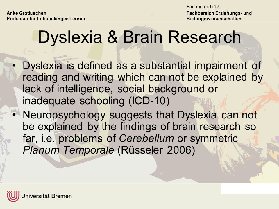 Dyslexia & Brain Research