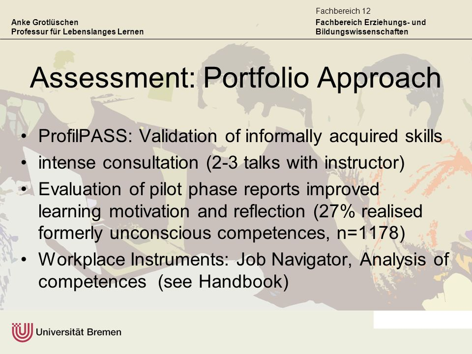 Assessment: Portfolio Approach