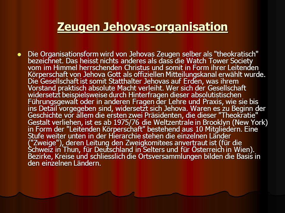 Zeugen Jehovas-organisation