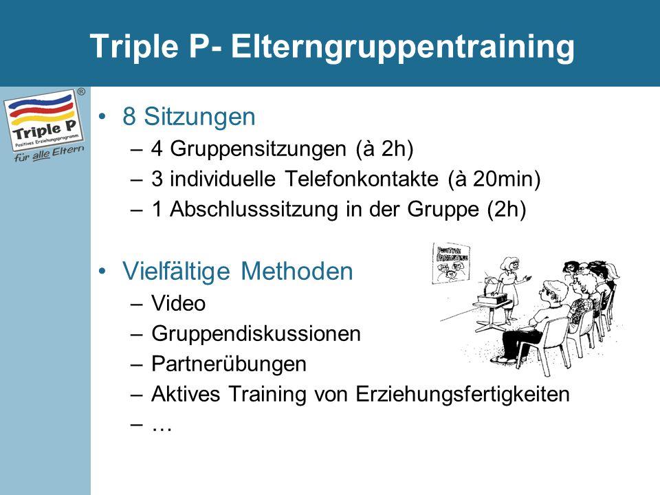 Triple P- Elterngruppentraining