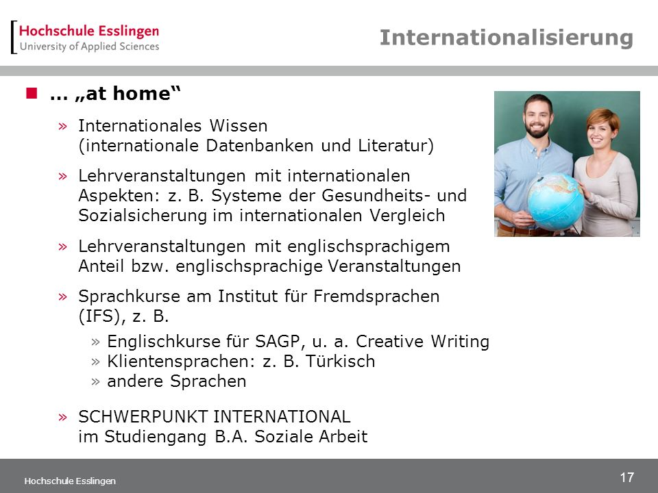 Internationalisierung