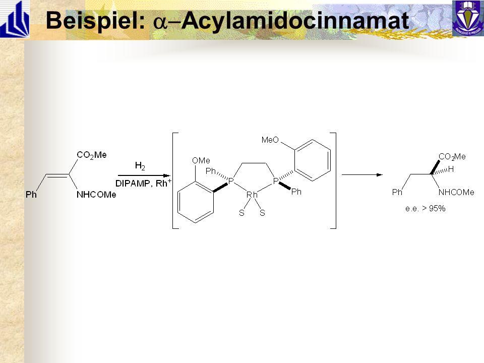 Beispiel: a-Acylamidocinnamat