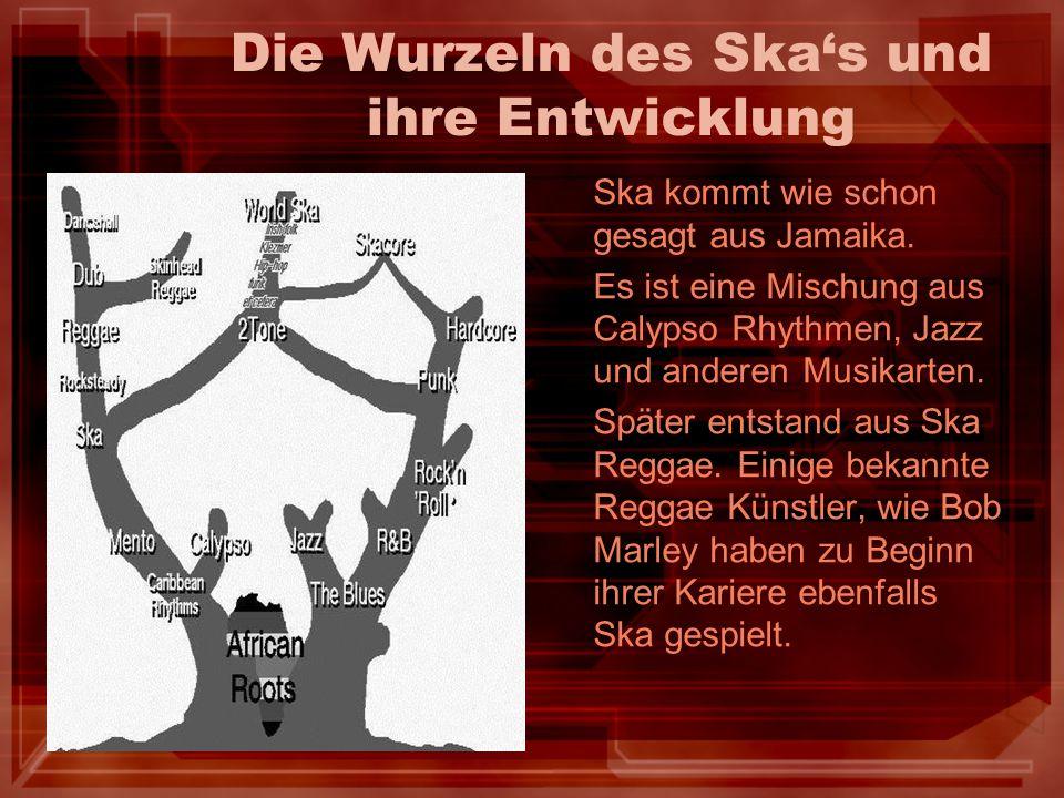 Die Wurzeln des Ska's und ihre Entwicklung