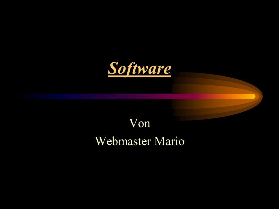 Software Von Webmaster Mario