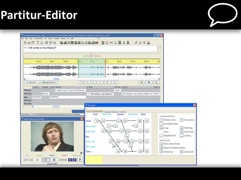 Partitur-Editor