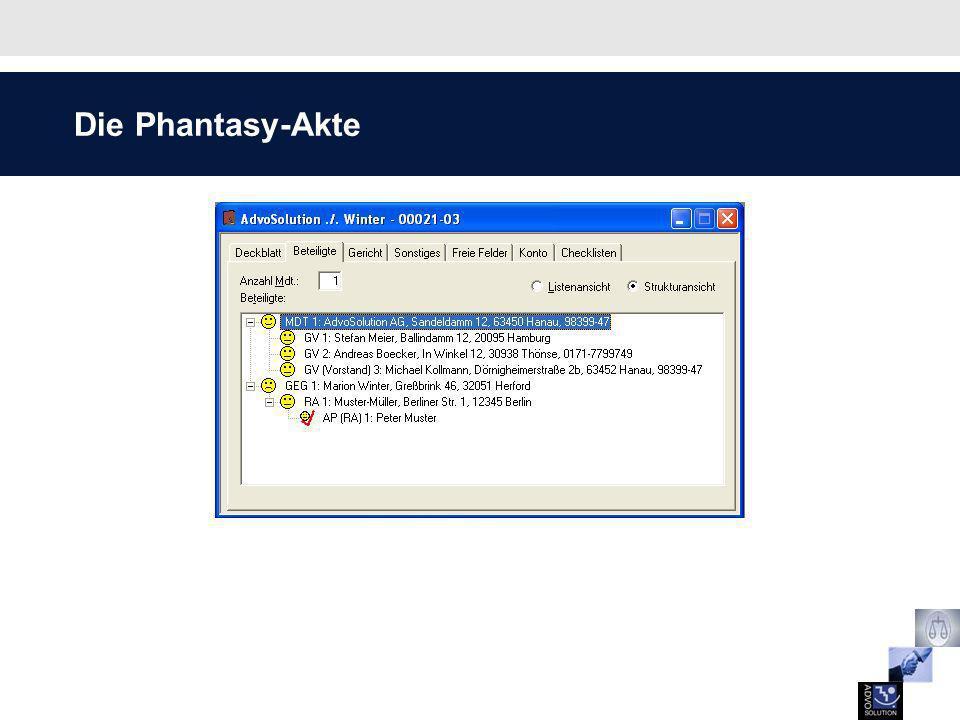Die Phantasy-Akte