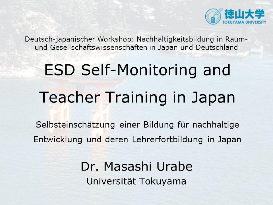 Dr. Masashi Urabe Universität Tokuyama