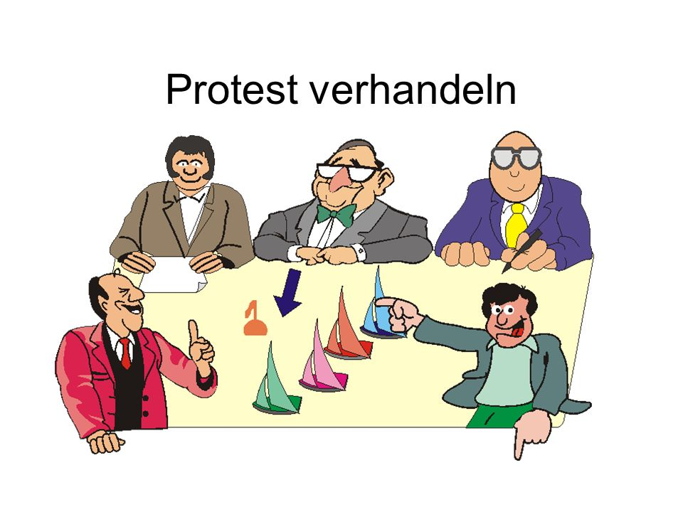 Protest verhandeln