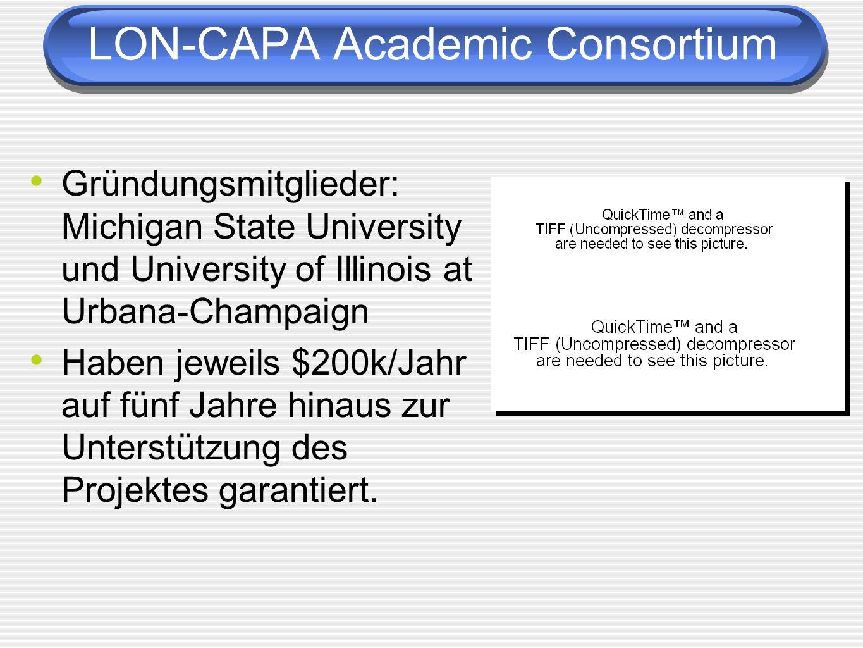 LON-CAPA Academic Consortium