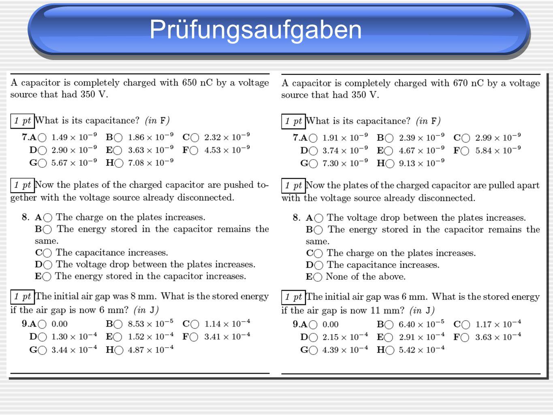 Prüfungsaufgaben