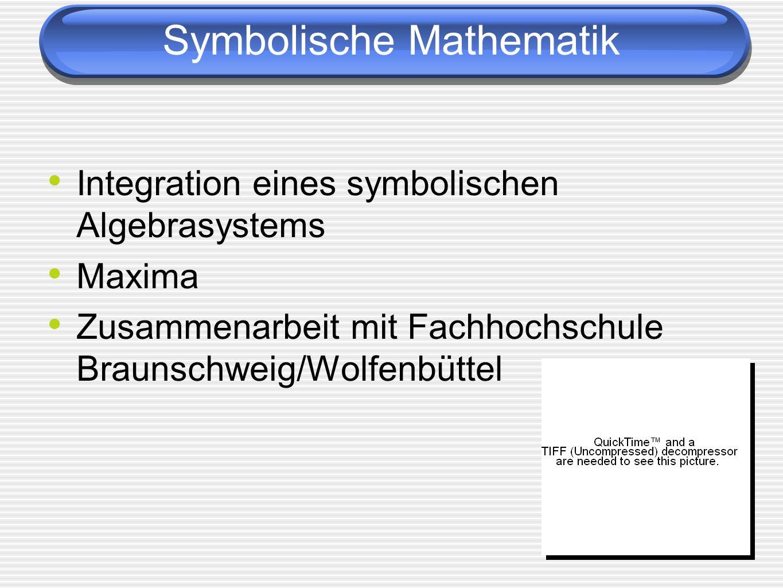 Symbolische Mathematik