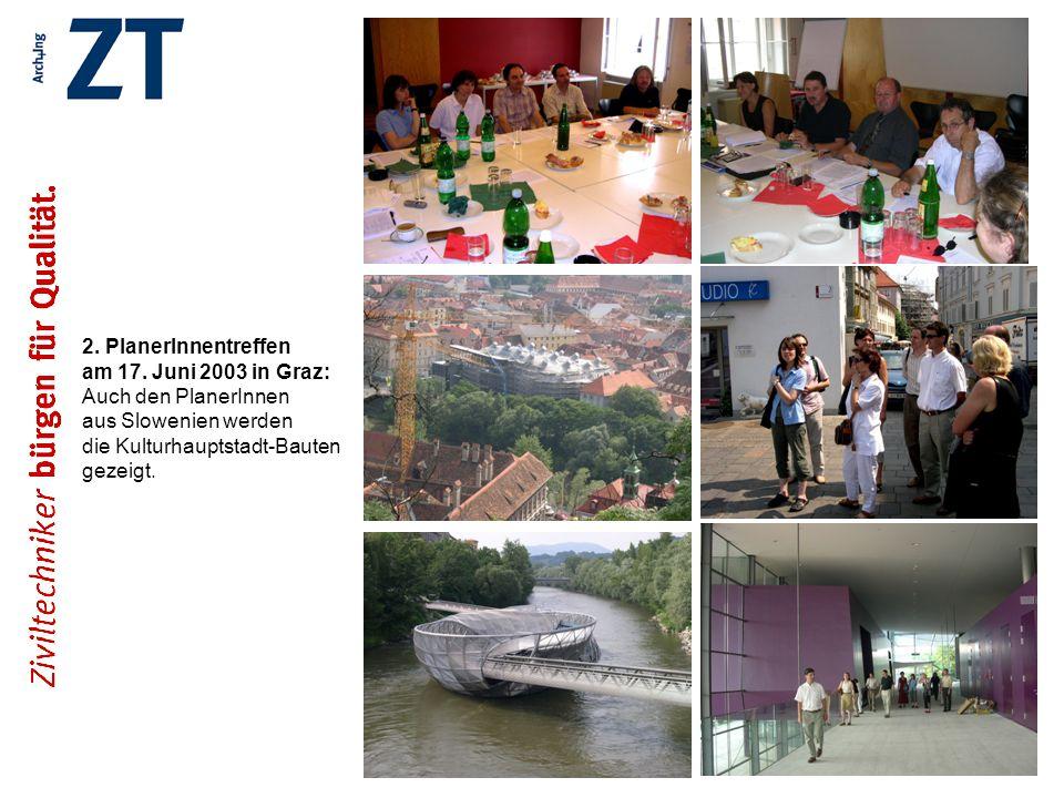 2. PlanerInnentreffen am 17. Juni 2003 in Graz:
