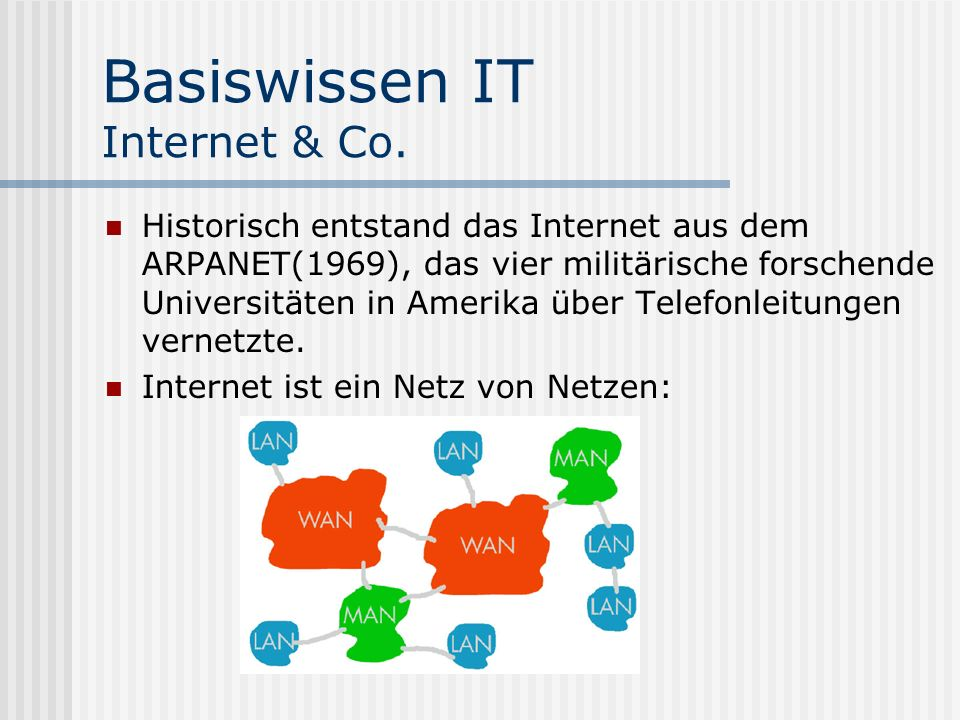 Basiswissen IT Internet & Co.