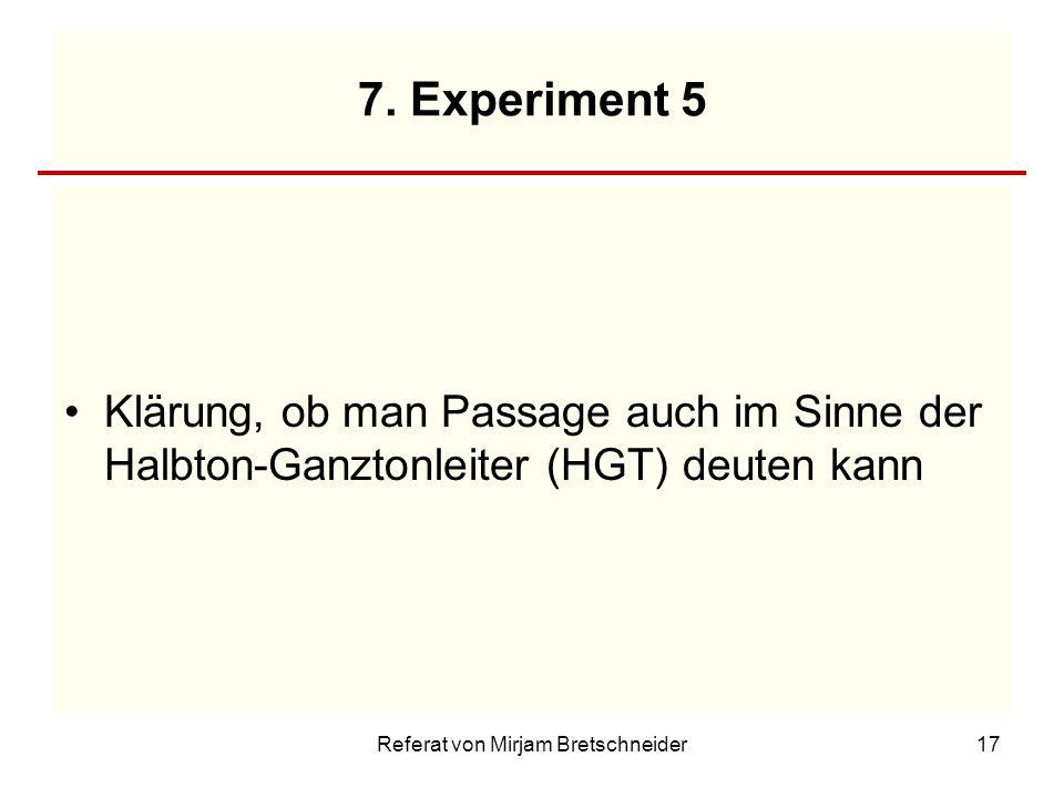 Referat von Mirjam Bretschneider