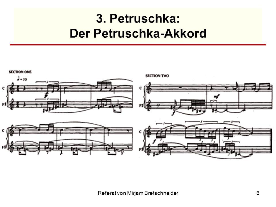 3. Petruschka: Der Petruschka-Akkord