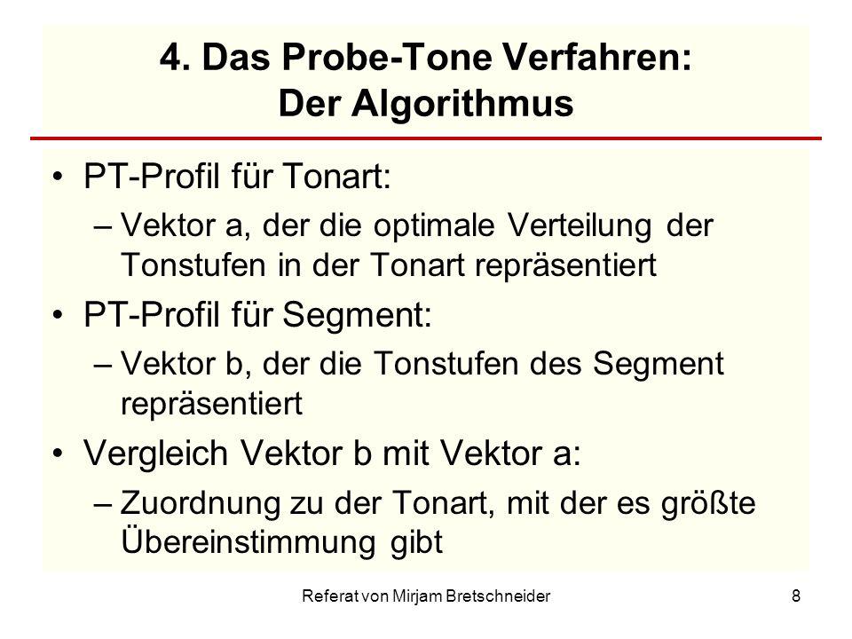 4. Das Probe-Tone Verfahren: Der Algorithmus