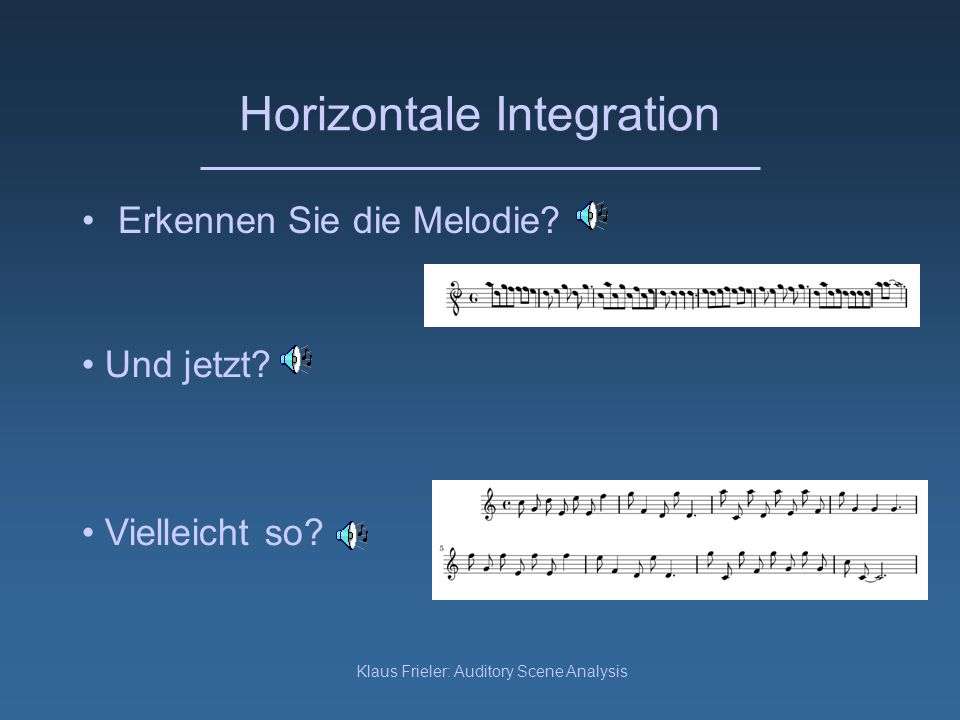 Horizontale Integration