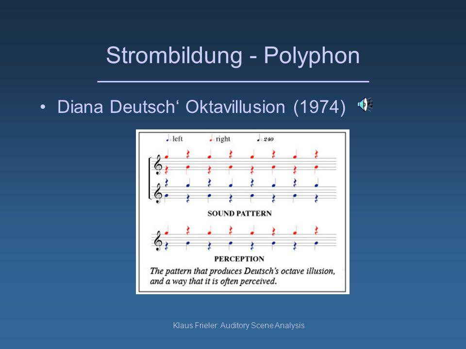 Strombildung - Polyphon
