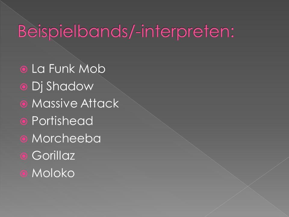 Beispielbands/-interpreten: