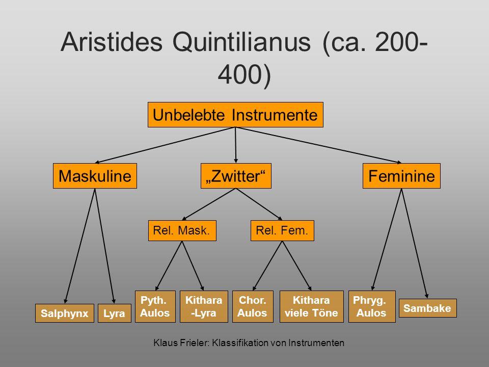 Aristides Quintilianus (ca. 200-400)