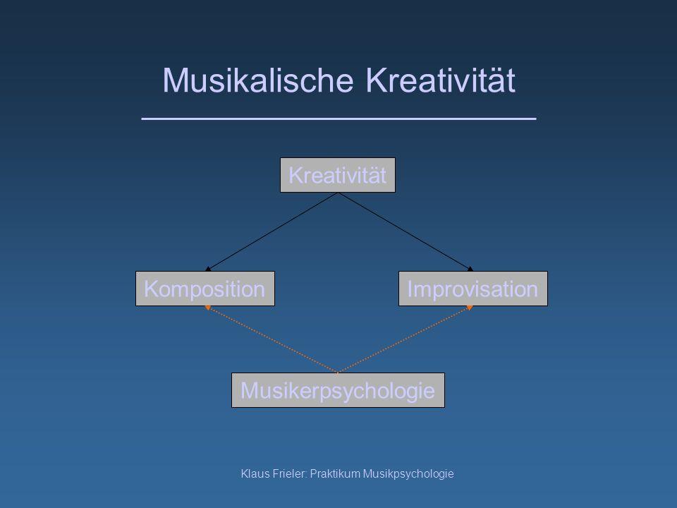 Musikalische Kreativität