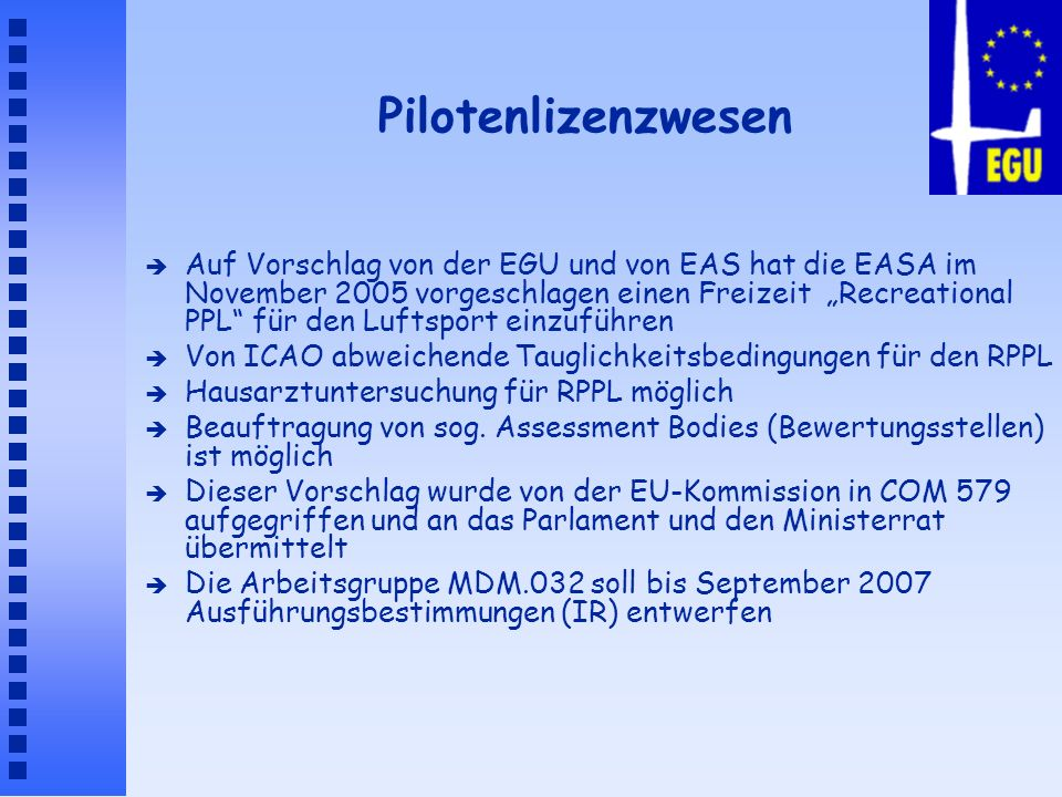 Pilotenlizenzwesen