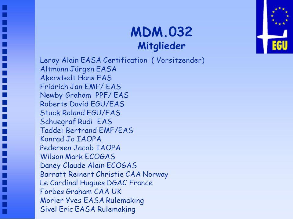 MDM.032 Mitglieder Leroy Alain EASA Certification ( Vorsitzender)
