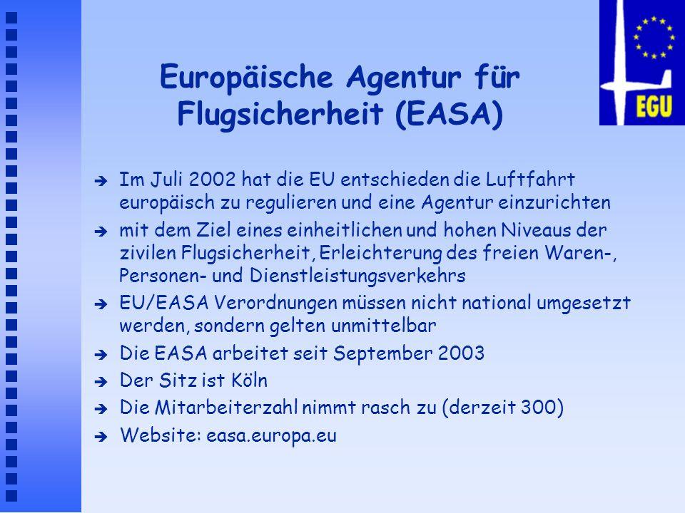 Europäische Agentur für Flugsicherheit (EASA)