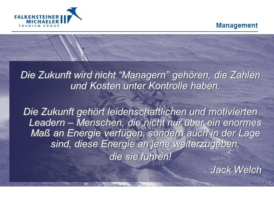 Management Die Zukunft wird nicht Managern gehören, die Zahlen und Kosten unter Kontrolle haben.
