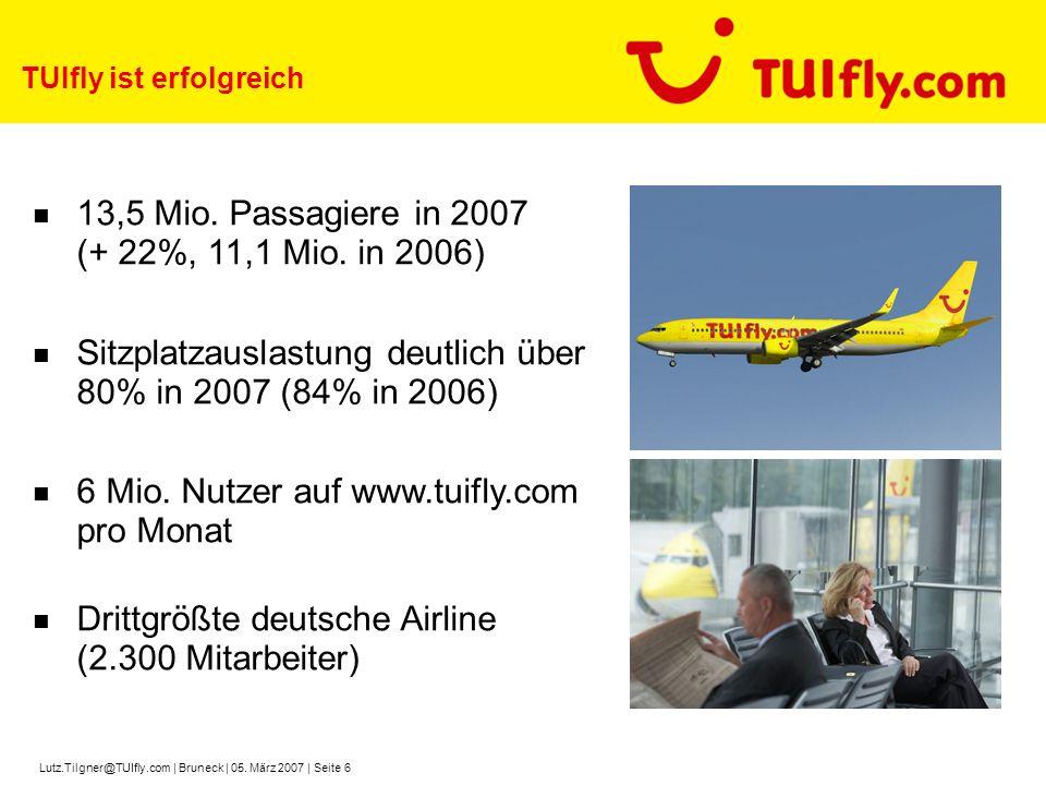 TUIfly ist erfolgreich
