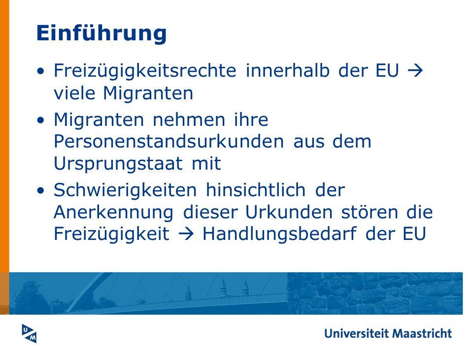 Einführung Freizügigkeitsrechte innerhalb der EU  viele Migranten