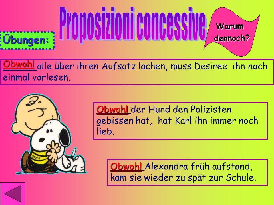 Proposizioni concessive