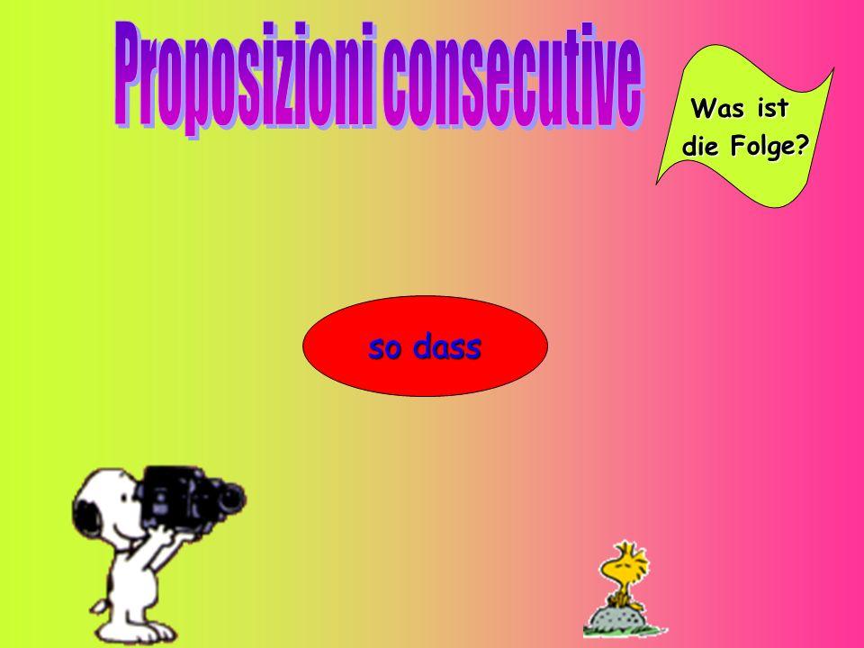 Proposizioni consecutive