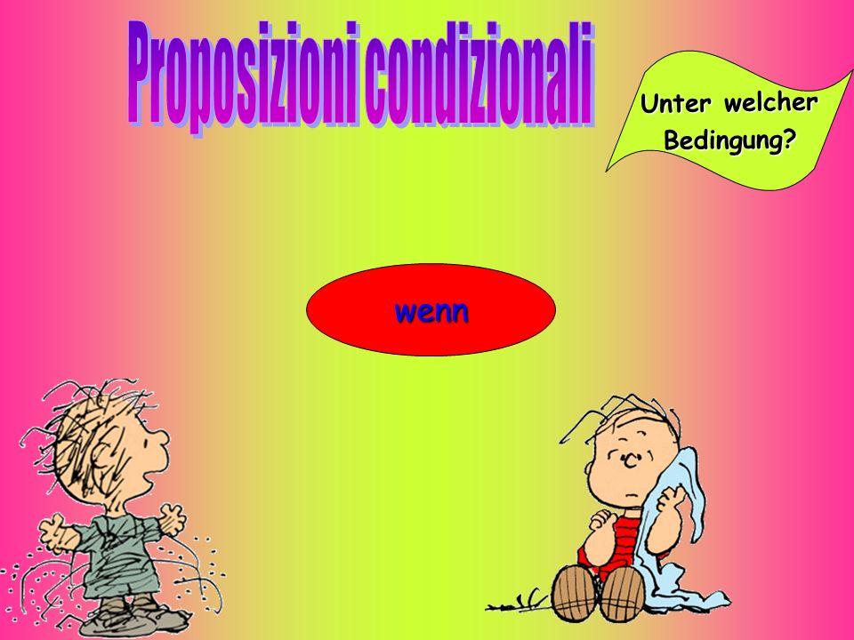 Proposizioni condizionali