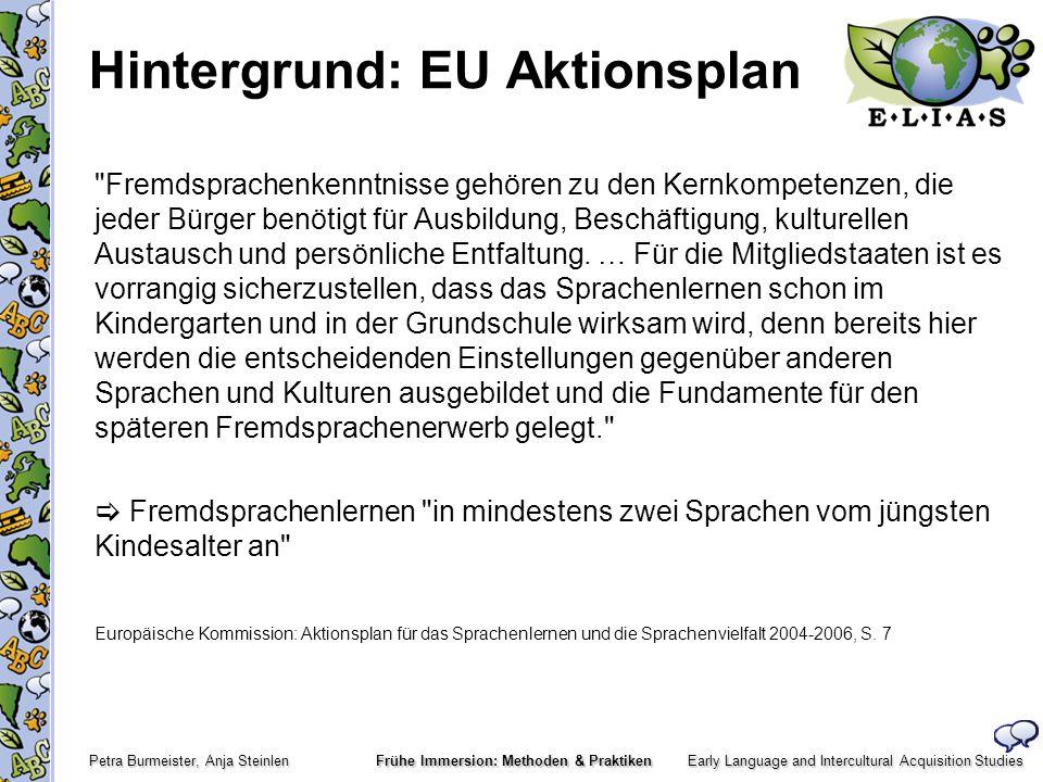 Hintergrund: EU Aktionsplan