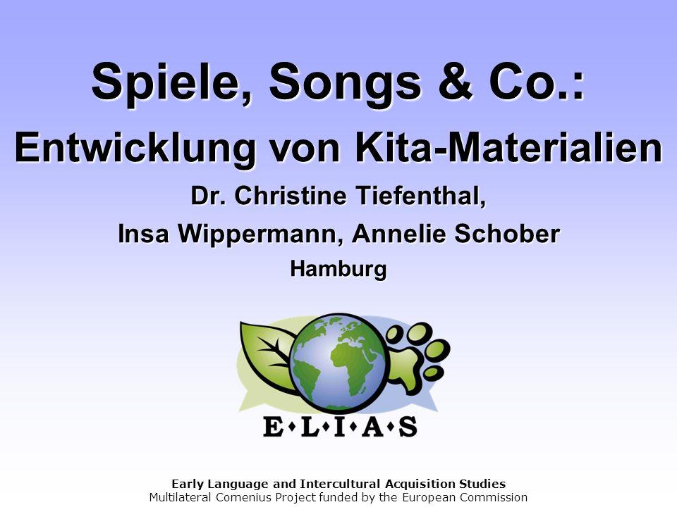 Spiele, Songs & Co. : Entwicklung von Kita-Materialien Dr