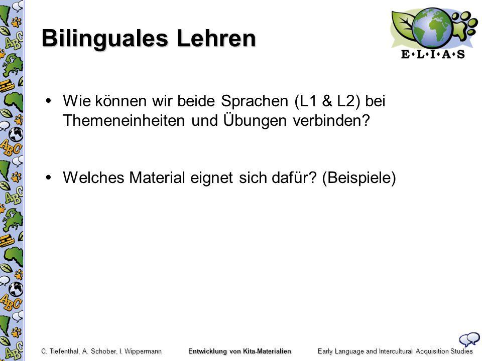 Bilinguales Lehren  Wie können wir beide Sprachen (L1 & L2) bei Themeneinheiten und Übungen verbinden