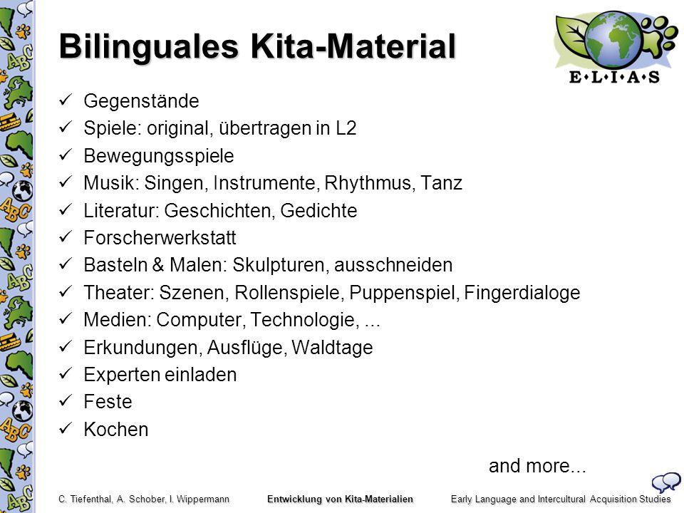 Bilinguales Kita-Material