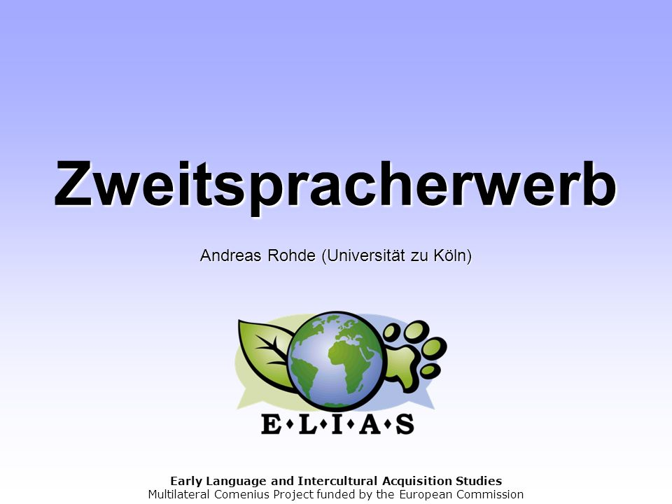 Andreas Rohde (Universität zu Köln)